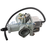 30mm Carburetor w/Hand Choke Lever for 200cc-250cc ATVs, Dirt Bikes & Go Karts