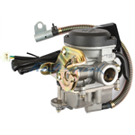 18mm Carburetor w/Electric Choke for GY6 50cc Mopeds / Scooters
