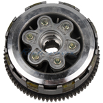 6 Plates Clutch Assembly for CG 200cc-250cc ATVs and Dirt Bikes