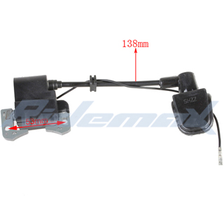 ignition coil for chinese 2 stroke 47cc 49cc pocket bikes atvs rh powersportsmax com Basic Electrical Schematic Diagrams Basic Electrical Wiring Diagrams