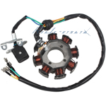8-Coil Magneto Stator for 200cc-250cc Water/Air Cooled ATVs & Dirt Bikes