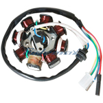 8-Coil Magneto Stator for GY6 150cc Scooters, ATVs, Go Karts