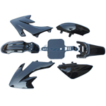 Black Plastic Fairing Body Kit for HONDA CRF50 / XR50 Style 50cc 90cc 110cc 125cc Pit Bikes