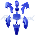 Plastic Fender Body Kit for HONDA CRF50 XR50 Style 50cc 110cc 125cc Pit Bikes, Dirt Bikes (Blue)
