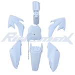 White Plastic Body Shell for HONDA CRF70 Style Pit Bikes