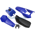Plastic Fender Body Seat Tank Kit Yamaha PW80 PW 80 Blue