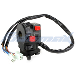 5-Function ATV Left Switch Assembly with Choke Lever