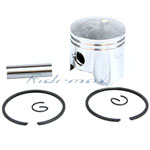 Piston Kit for 2-stroke 47cc, 49cc Engine Pocket Bikes, ATVs