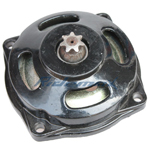 7 Teeth Gearbox for 2-stroke 47cc, 49cc Pocket Bikes, ATVs,free shipping!
