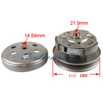 X-PRO<sup>®</sup> Driven Wheel Assembly for CF 250cc Go Karts & Scooters,free shipping!