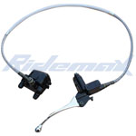 Front Hydraulic Brake Assembly for 70cc-125cc Dirt Bikes