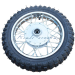 "10"" Front Wheel Rim Tire Assembly for 50cc 70cc 110cc Dirt Bikes"