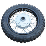 10'' Front Wheel Rim Tire Assembly for 50cc 70cc 110cc Dirt Bikes