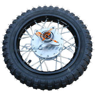 how to change a dirt bike tire at home