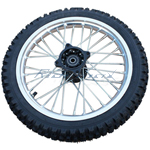 14'' Front Wheel Rim Tire Assembly for HONDA XR50 CRF50 125 Dirt Pit Bike