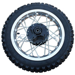 12'' Rear Wheel Rim Tire Assembly for 110cc-150cc Dirt Bikes