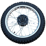 14'' Front Wheel Rim Tire Assembly for 110cc 125cc 150cc Dirt Bikes