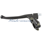 X-PRO<sup>®</sup> Left Black Clutch Lever Assembly for 50cc  70cc 110cc 125cc Dirt Bikes