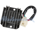 4-Pin Voltage Regulator for 150cc-250cc ATVs, Dirt Bikes & Go Karts