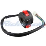 Left Switch Assembly for 50cc-250cc ATVs