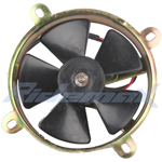 Fan for 200-250cc Water cooled Engine ATVs, Go Karts and Dirt Bikes,free shipping!