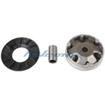 Front Variator Clutch Driving Wheel for GY6 50cc Moped Scooters