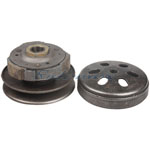 Driven Wheel Assembly for GY6 50cc Moped / Scooters,free shipping!