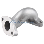 Intake Manifold Pipe for 50cc-110cc Dirt Bikes, Go Karts and ATVs