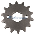 14 Tooth Engine Sprocket for 50-125cc ATVs, Dirt Bikes, Go Karts & 150cc Dirt Bikes