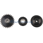 Three Direction Sprocket for 50-125cc Kick Start & Electric Start Engine