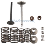 Intake & Exhaust Valve Assembly  for 70cc ATVs & Dirt Bikes