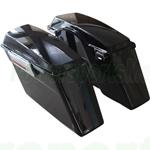 Refurbished Saddlebags Trunk w/Lid & Latch Kit F Harley Softail Dyna Sportster