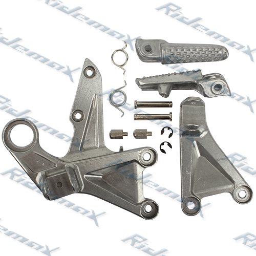 Front Foot Pegs Footrest & Bracket For Honda CBR1000RR 2008 2009 2010 2011