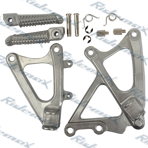 Front Foot Pegs Footrest & Bracket Yamaha YZF R1 2009 2010 2011