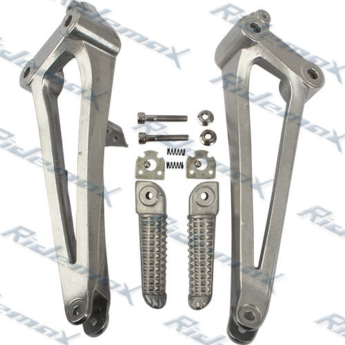 Rear Yamaha 09 10 11 YZF R1 Left Right Passenger Foot Pegs Footrest Brackets