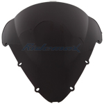 Black Windscreen Windshield HONDA CBR600 RR F4i 01-07