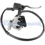 Front Hydraulic Brake Assembly for GY6 50cc-150cc Scooters