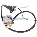 Front Hydraulic Brake Assembly for 49cc/50cc Moped & Scooters