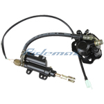 Rear Disc Brake Assembly for 50-125cc ATVs