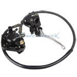 Front Hydraulic Brake Assembly for 50cc-125cc Dirt Bikes