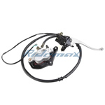 Front Hydraulic Brake Assembly for GY6150cc, 250cc Moped, Scooters