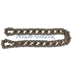 45 Links Timing Chain for GY6 125-150cc Scooters & 150cc Go Karts, ATVs
