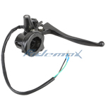 X-PRO<sup>®</sup> Right Brake Lever Handle Assembly for Gy6 50cc Scooter Moped,free shipping!