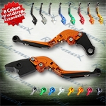 Folding Extendable CNC Brake Clutch Levers Fit For Honda CBR929RR 2000-2001