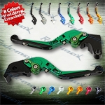 Folding Extendable CNC Brake Clutch Levers Fit For Yamaha YZF R1 2009-2012