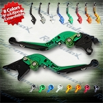 Folding Extendable CNC Brake Clutch Levers Fit For Suzuki TL1000R	1998-2003,   SV1000/S 2003-2010,  HAYABUSA/GSXR1300 1999-2007,