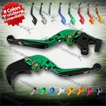 Folding Extendable CNC Brake Clutch Levers Fit For Suzuki B-King 2008-2011