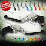 Folding Extendable CNC Brake Clutch Levers Fit For Suzuki GSXR1000 2005-2006,   GSXR600	2006-2010,  GSXR750 2006-2010
