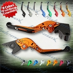 Folding Extendable CNC Brake Clutch Levers Fit For Kawasaki NINJA 250R 2008-2012