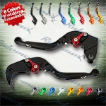 Folding Extendable CNC Brake Clutch Levers Fit For Kawasaki ZX636R / ZX6RR 2005-2006